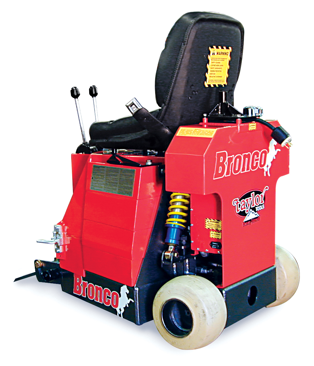 Taylor ToolsResources - Bronco floor scraper rental